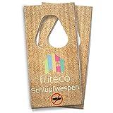 Futeco® – Schlupfwespen gegen Kleidermotten (2 Karten á 5 Lieferungen) – 100% Biologisch, Chemiefrei & Natürlich – Die zuverlässige Alternative zur klassischen Mottenbekämpfung – Made in Germany